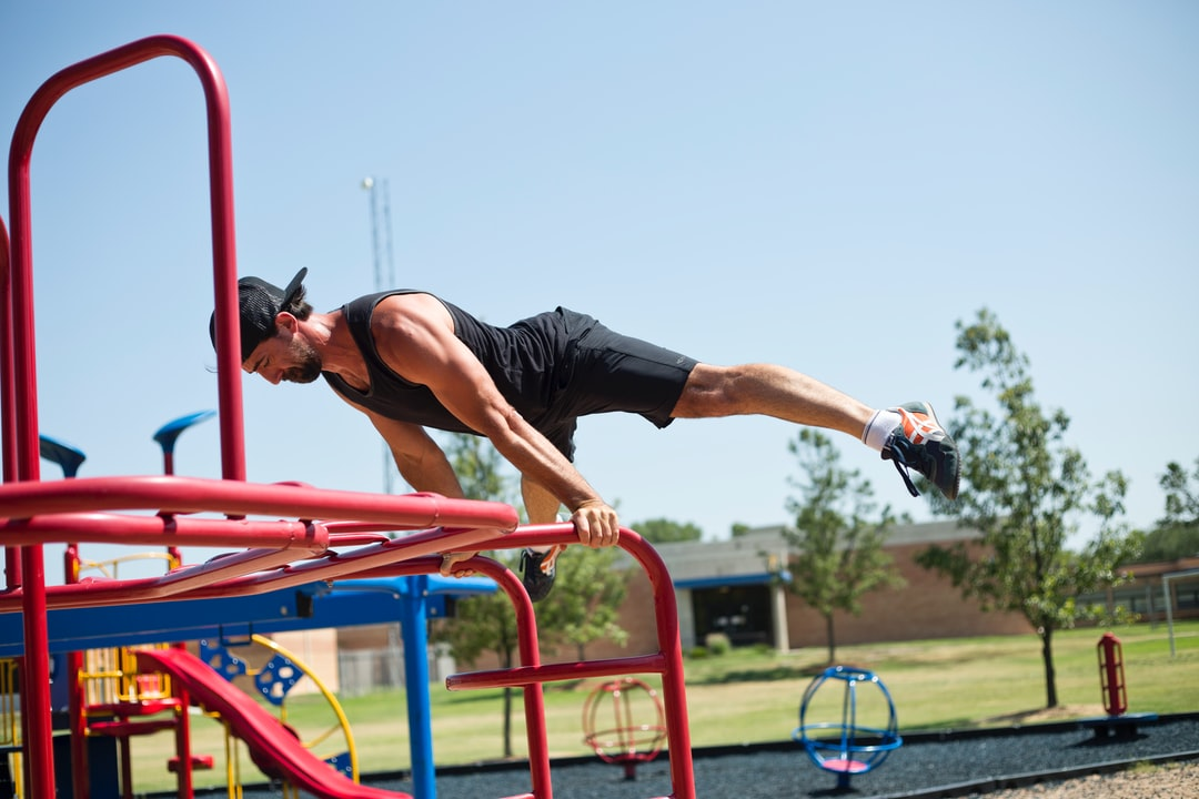 Planche at the Playground