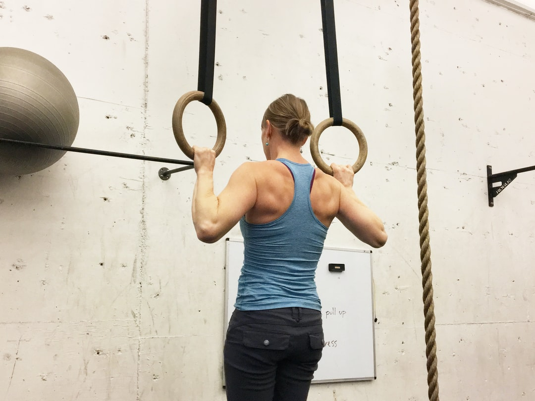 Chin-Up on Rings