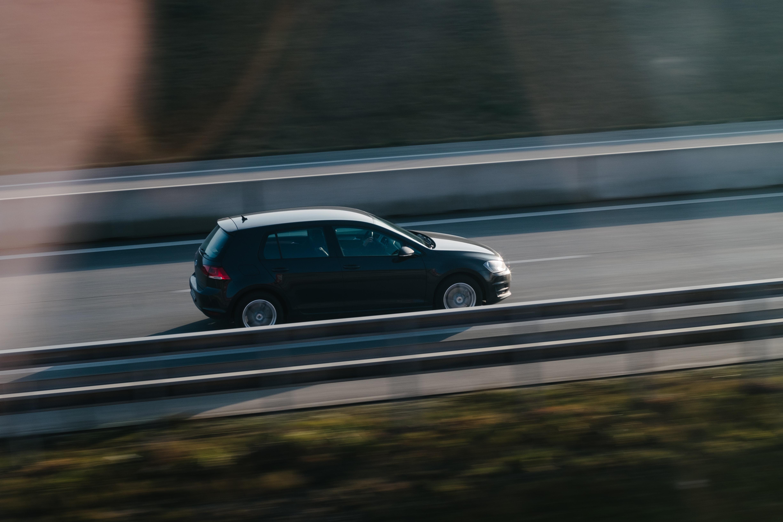 car on road