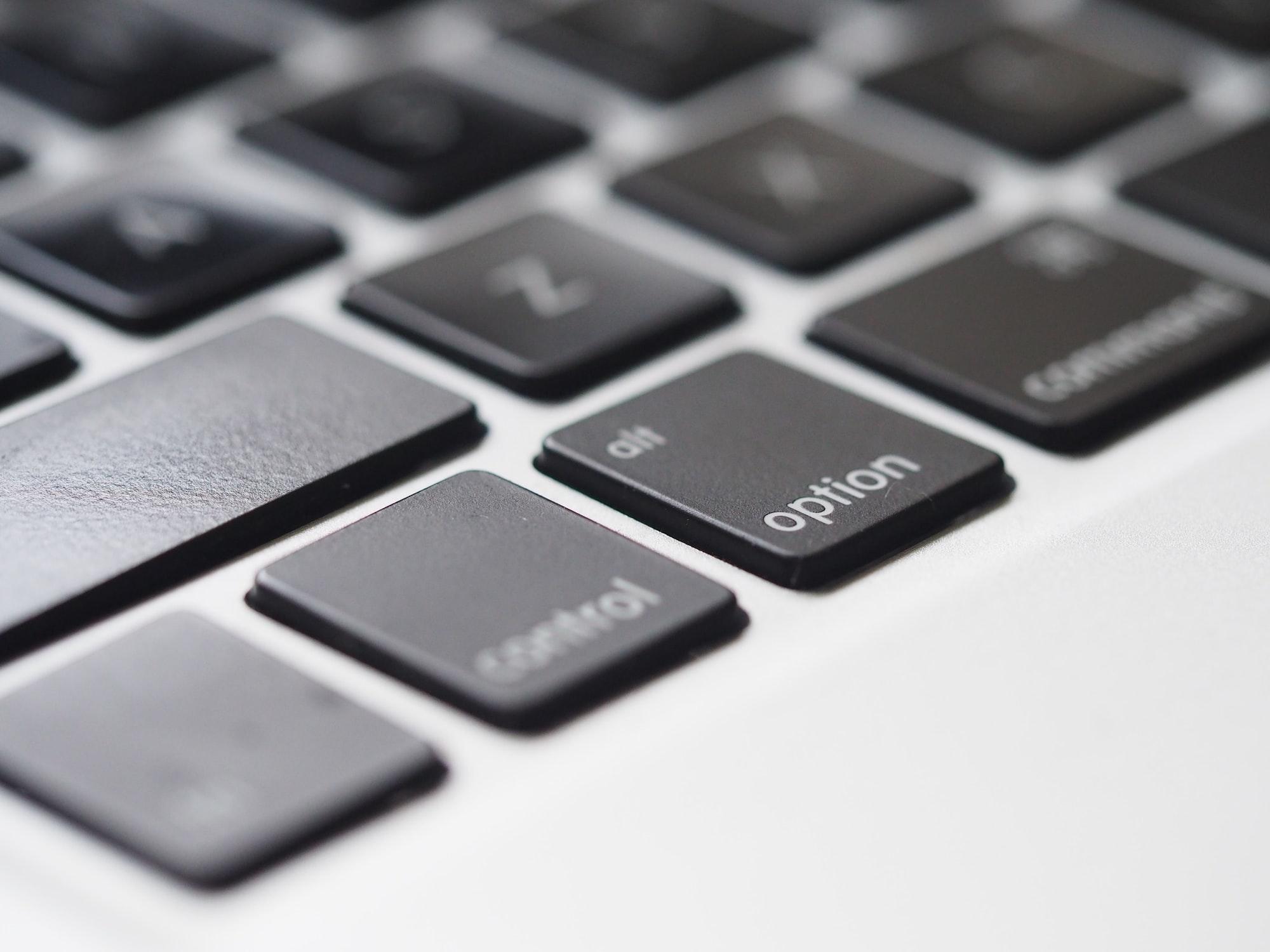 Optional keyboard