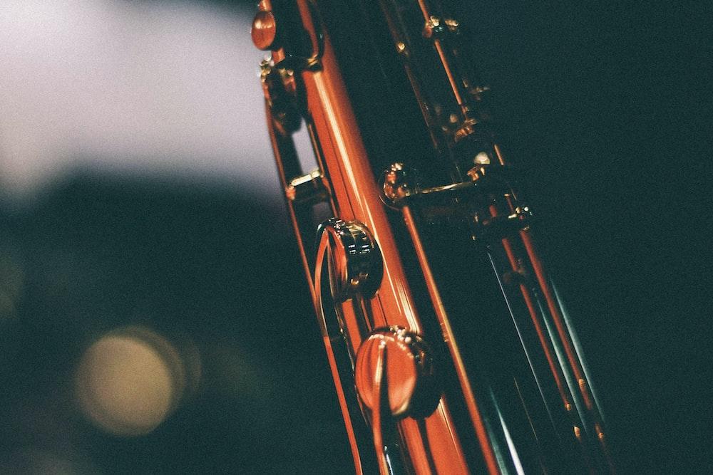 closeup photo of flute