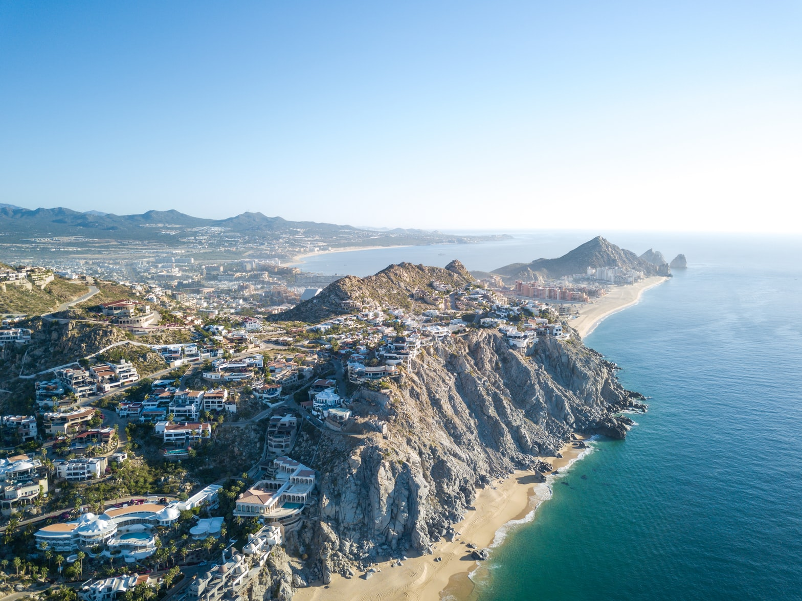 arial view of Cabo San Lucas, Mexico