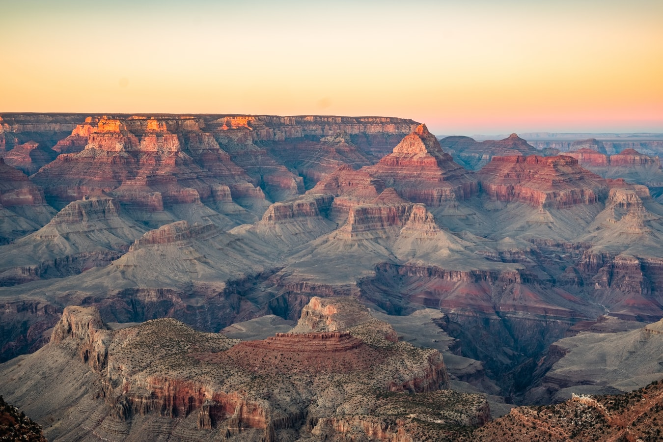 Grand canyon from Las vegas