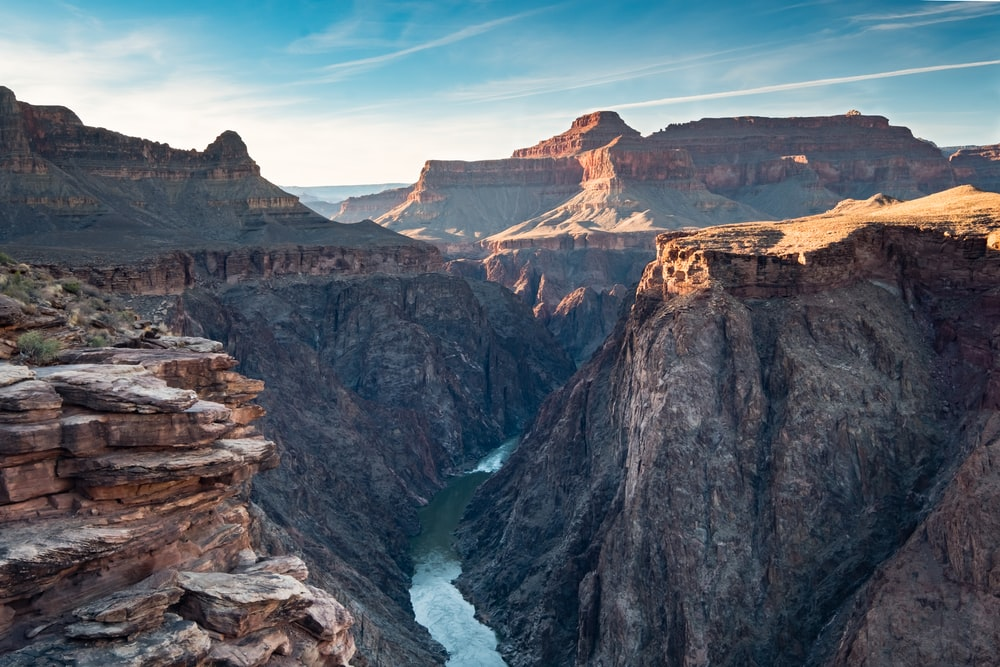 birds eye view of Grand Canyon during daytime