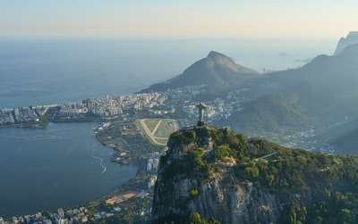 christ the redeemer, brazil rio de janeiro zoom background