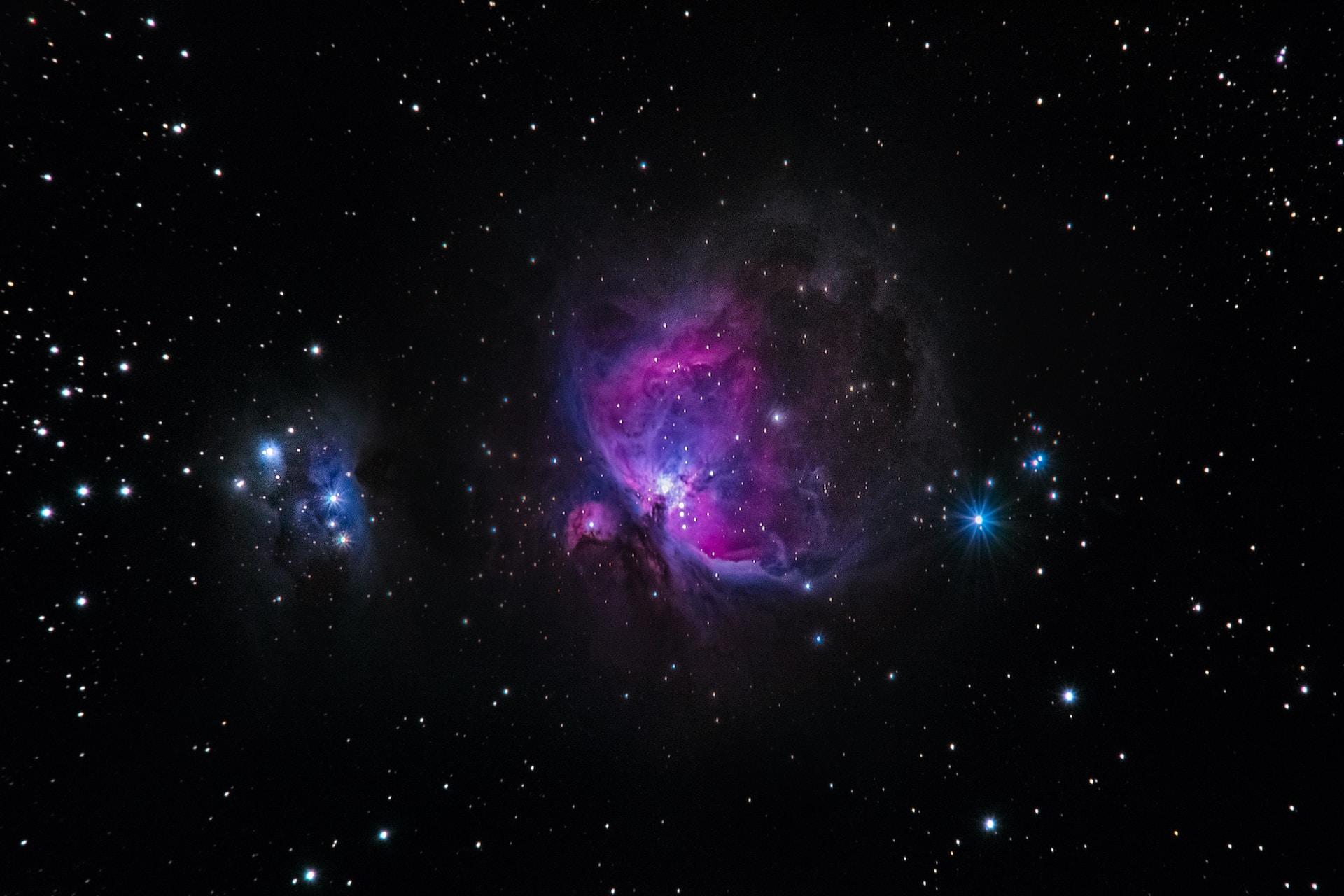 nebula in galaxy