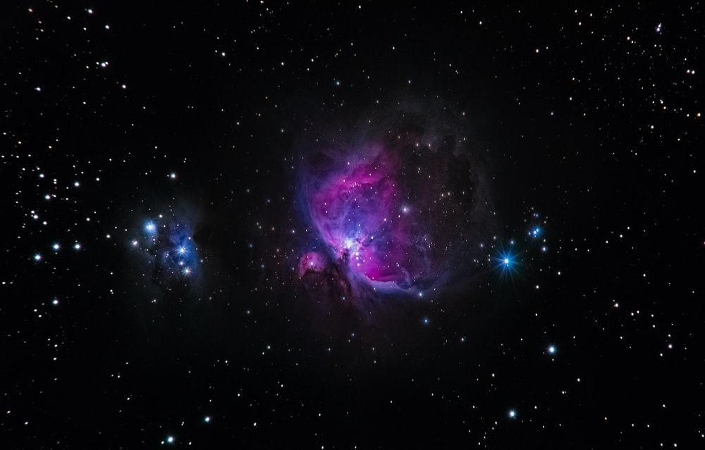 nebula in galaxy