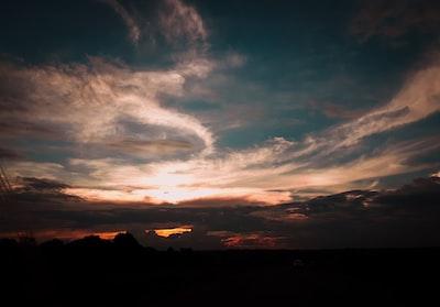 scenery of horizon malawi zoom background