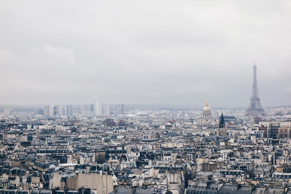Eiffel Tower, Paris France at daytime
