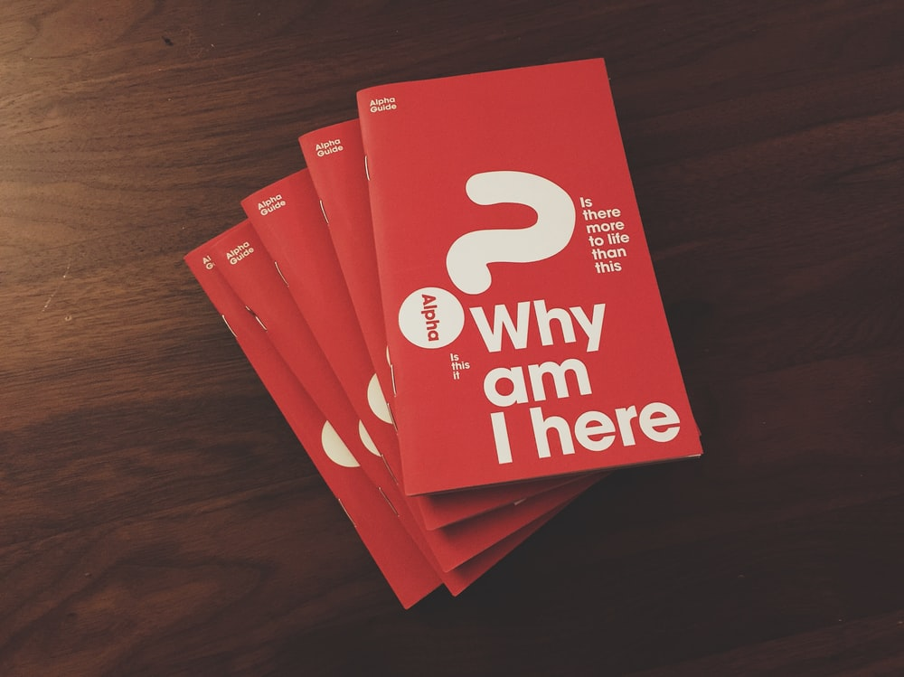 Why Am I Here? book