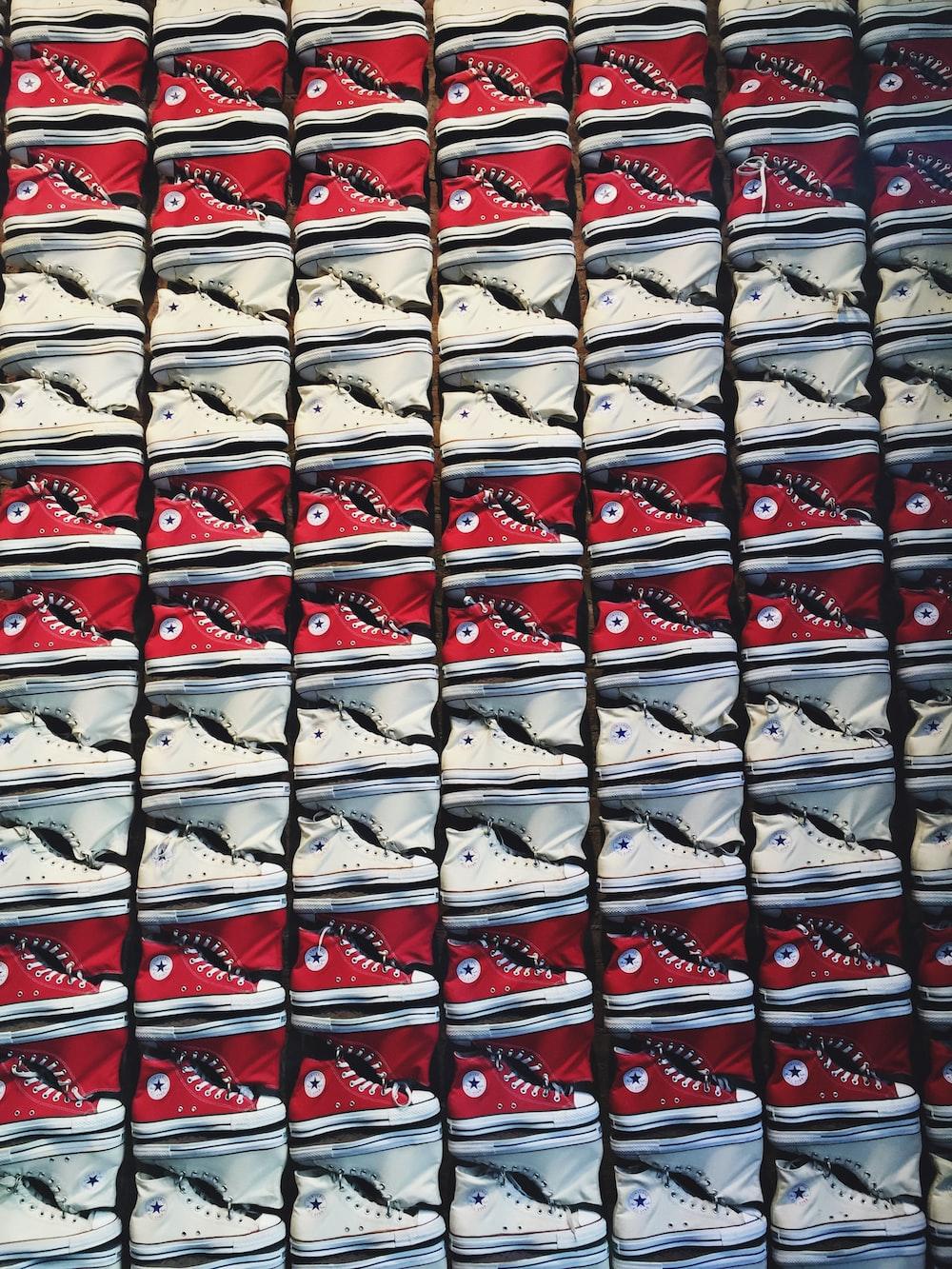 assorted Converse sneaker lot