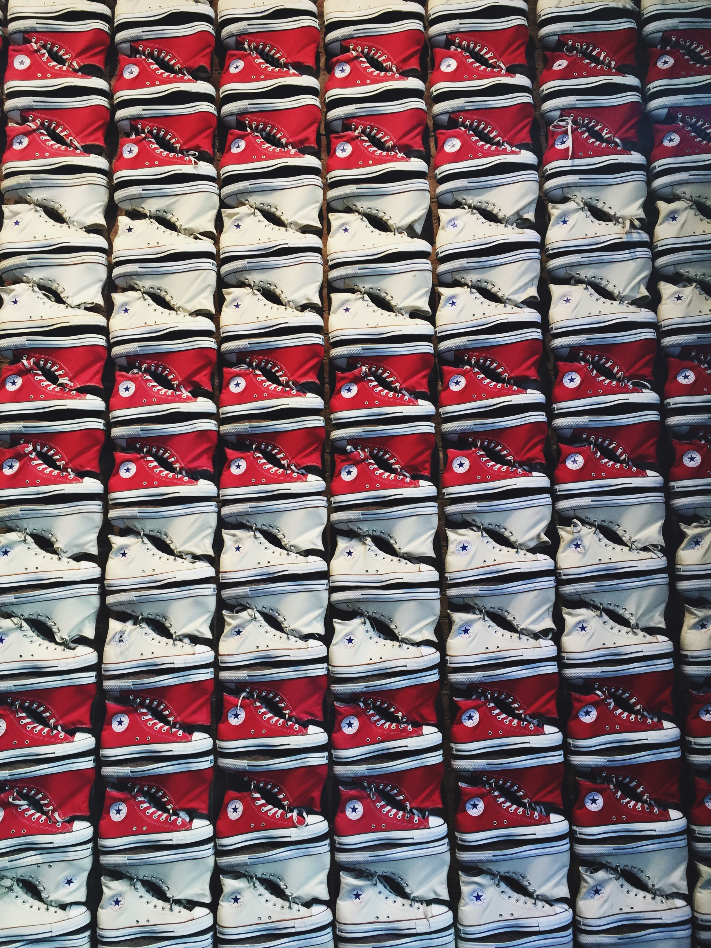 assorted Converse sneaker lot