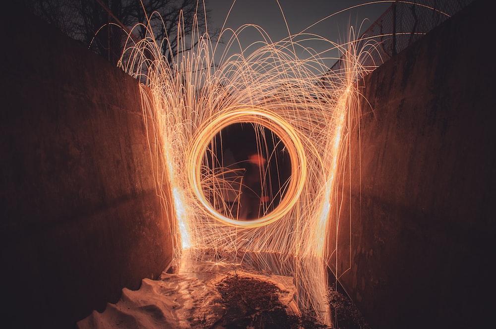 timeplase photo during night