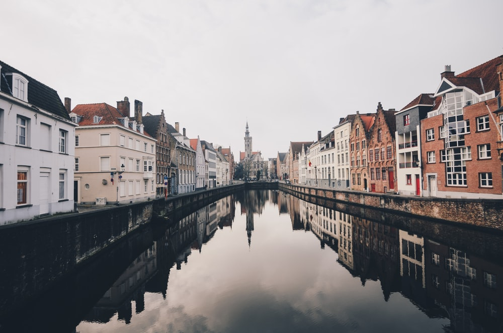 Romantic cities in Europe bruges