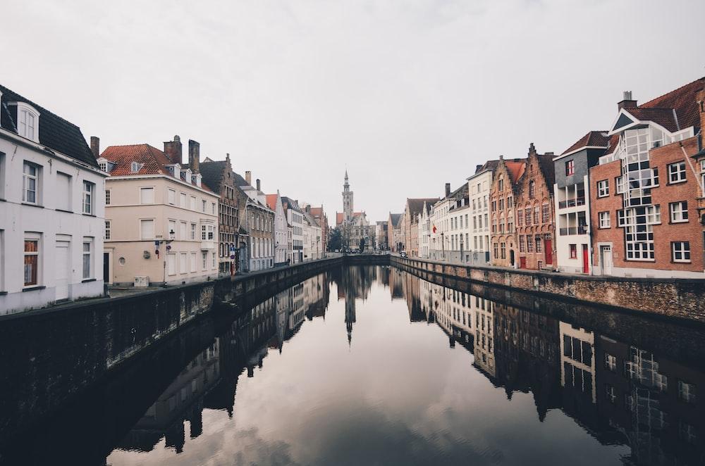 Romantic cities in Europe bruges
