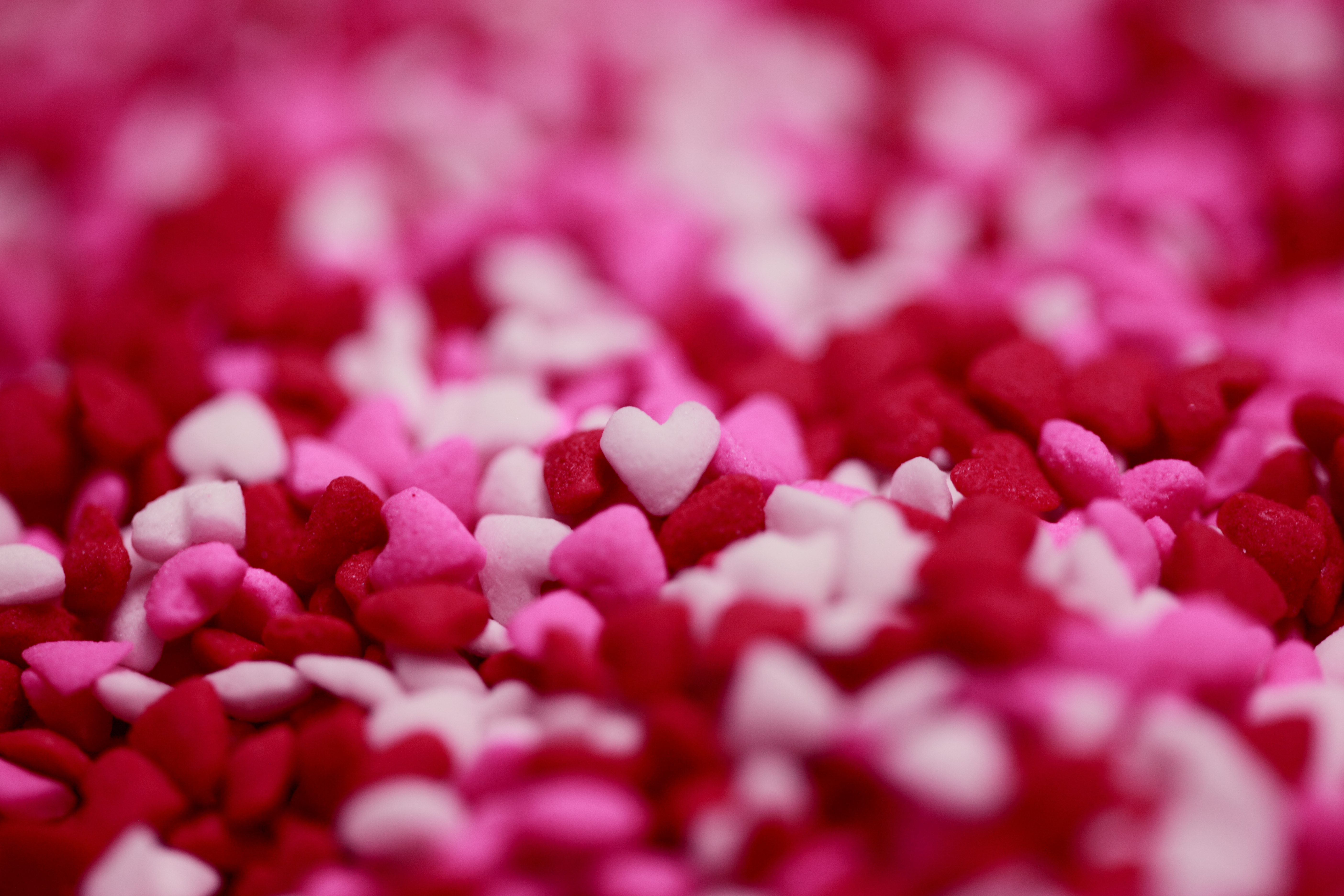 Pink White And Red Heart Decor