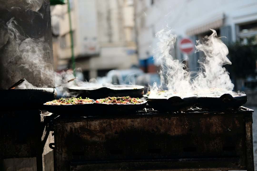 Tagine cooking in Tangier, Morocco.
