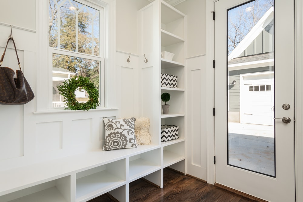One often neglected area of the home is the foyer.