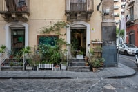 We were on our way to have lunch and suddenly we found a very authentic and cozy flower shop in Catania (Italy).