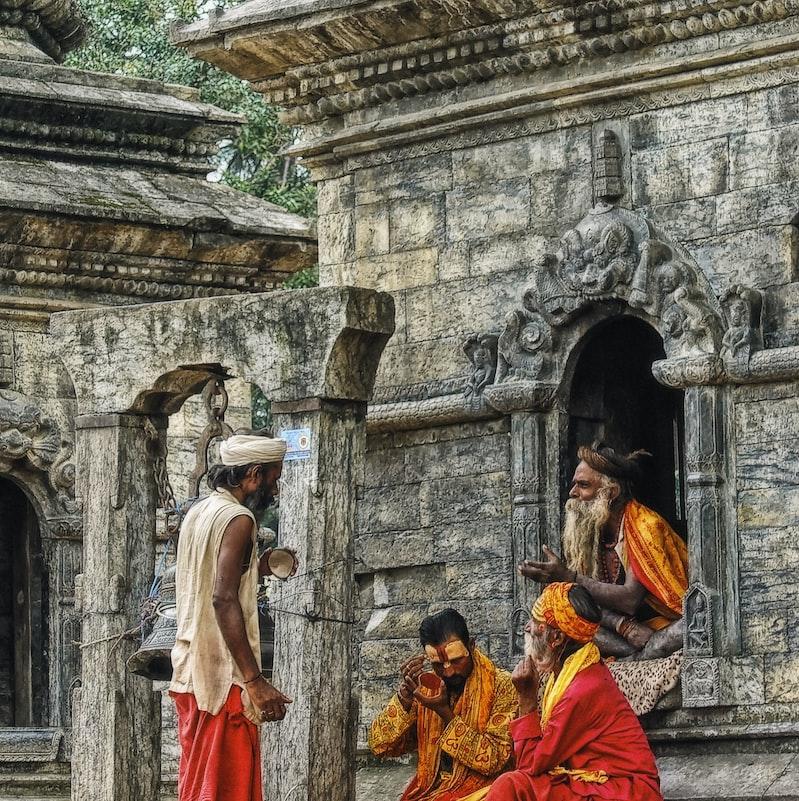 Temple in Kathmandu, Nepal