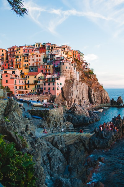The Cliffs of Cinque Terre