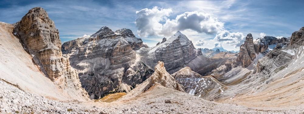 mountains during daytime