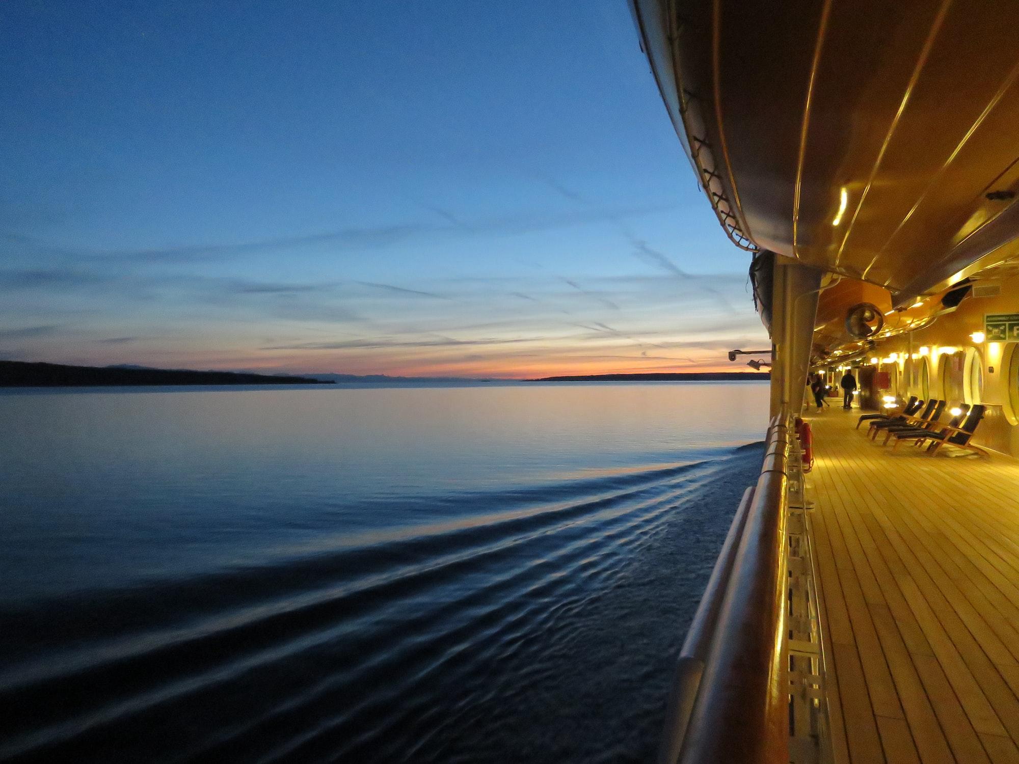 Cruising to Alaska