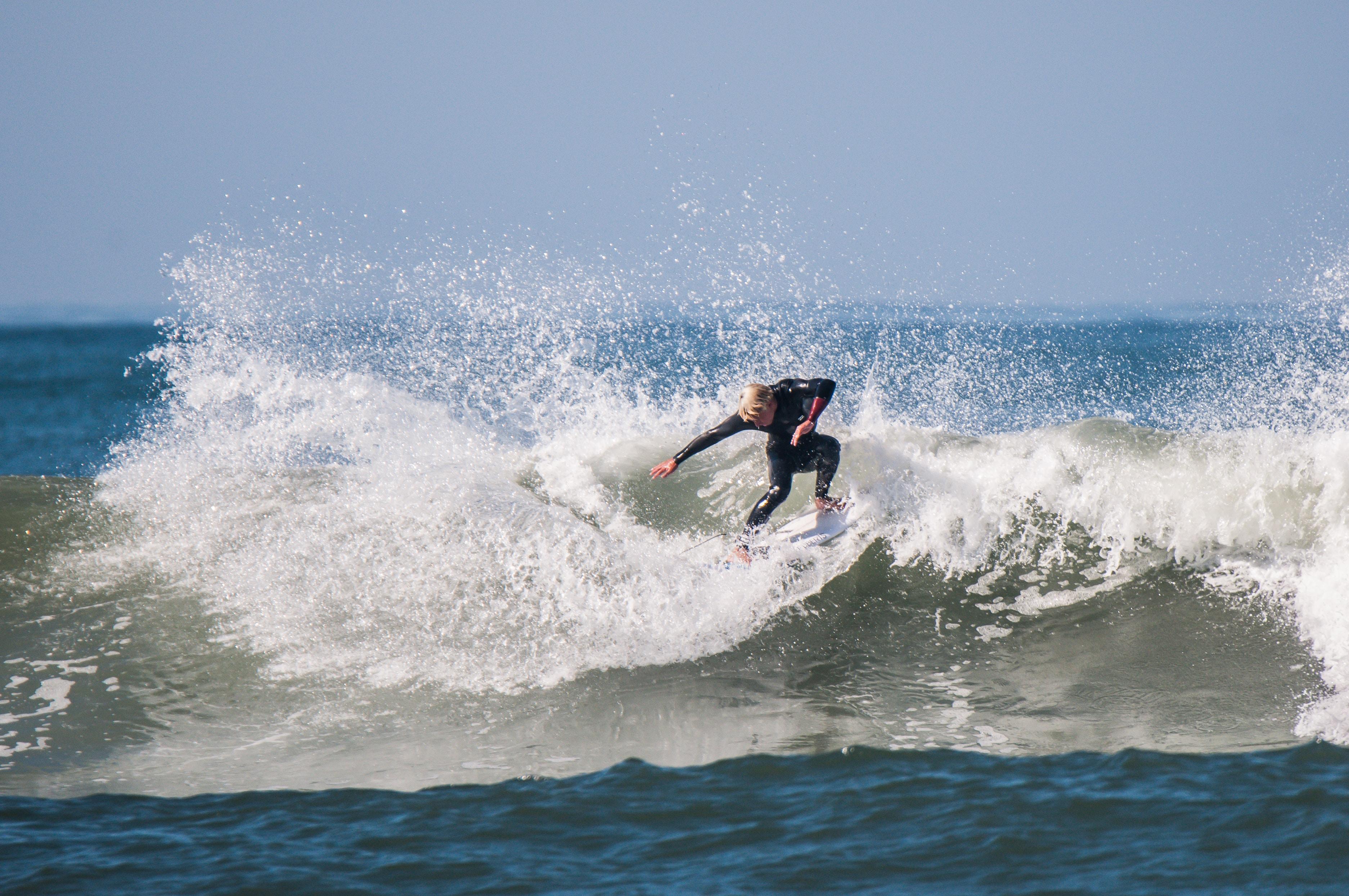 man doing surfboard