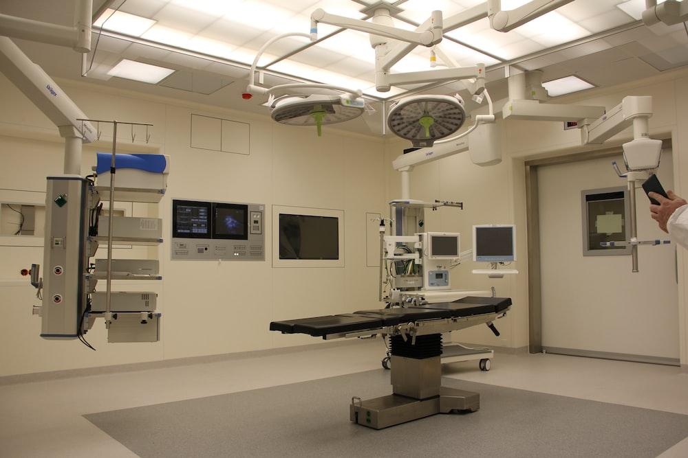 white medical equipment