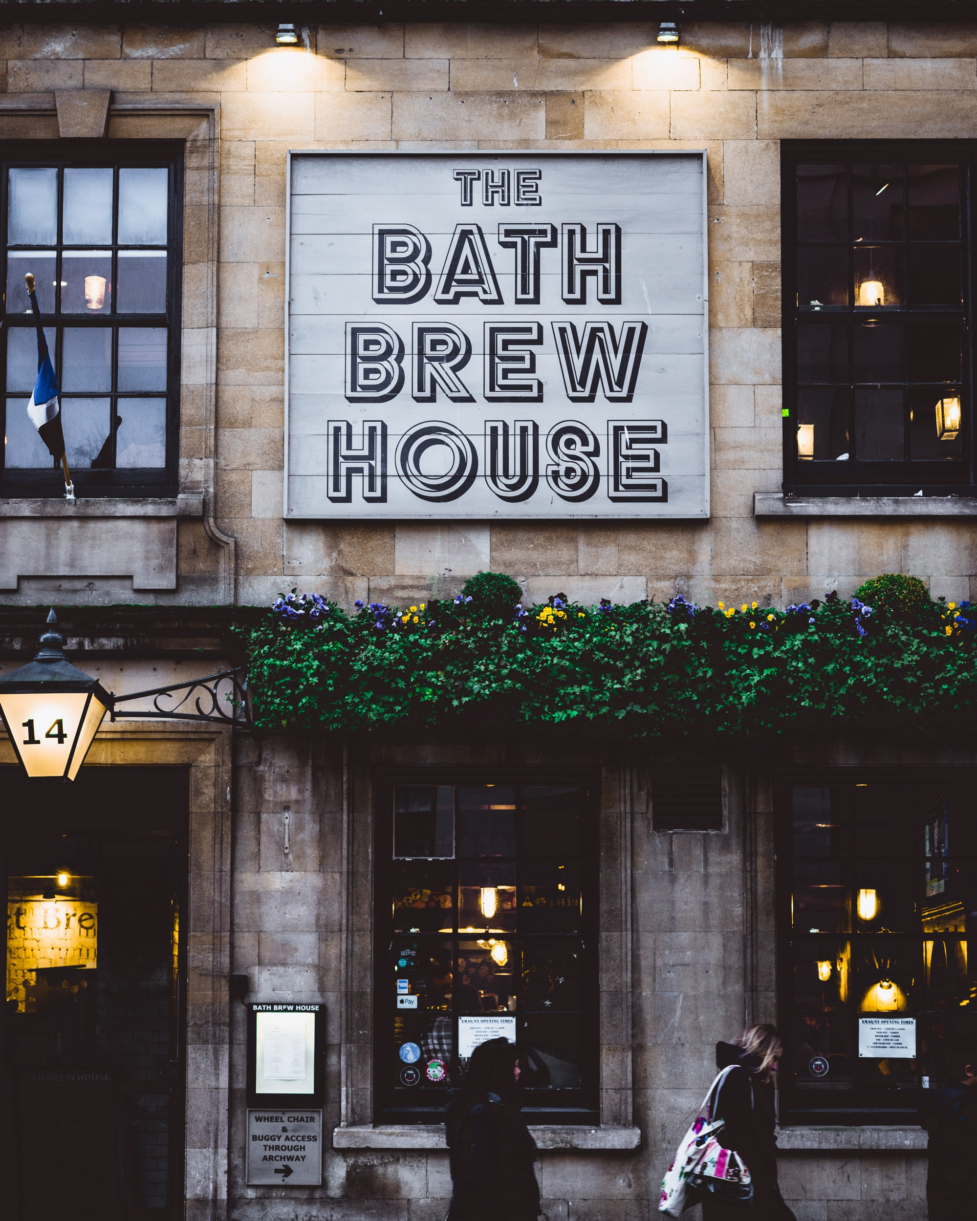 The Bath Brew House signage