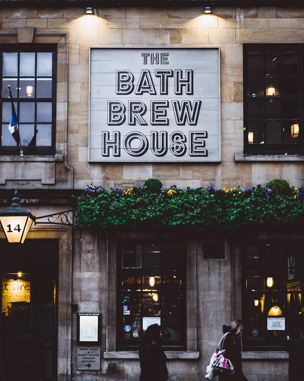 The Bath Brew House signage
