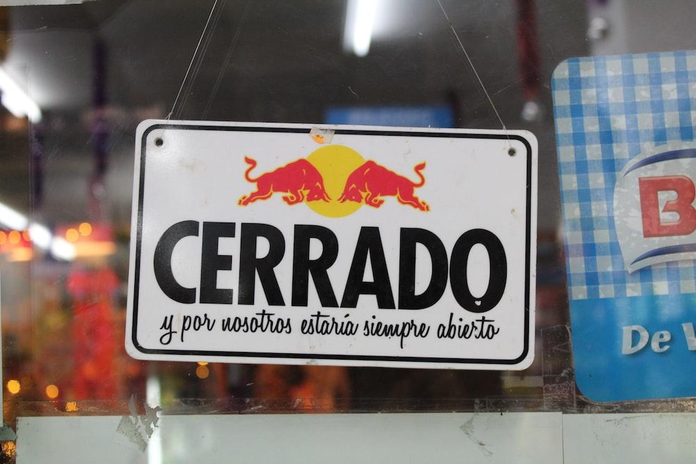 cerrado wall signage