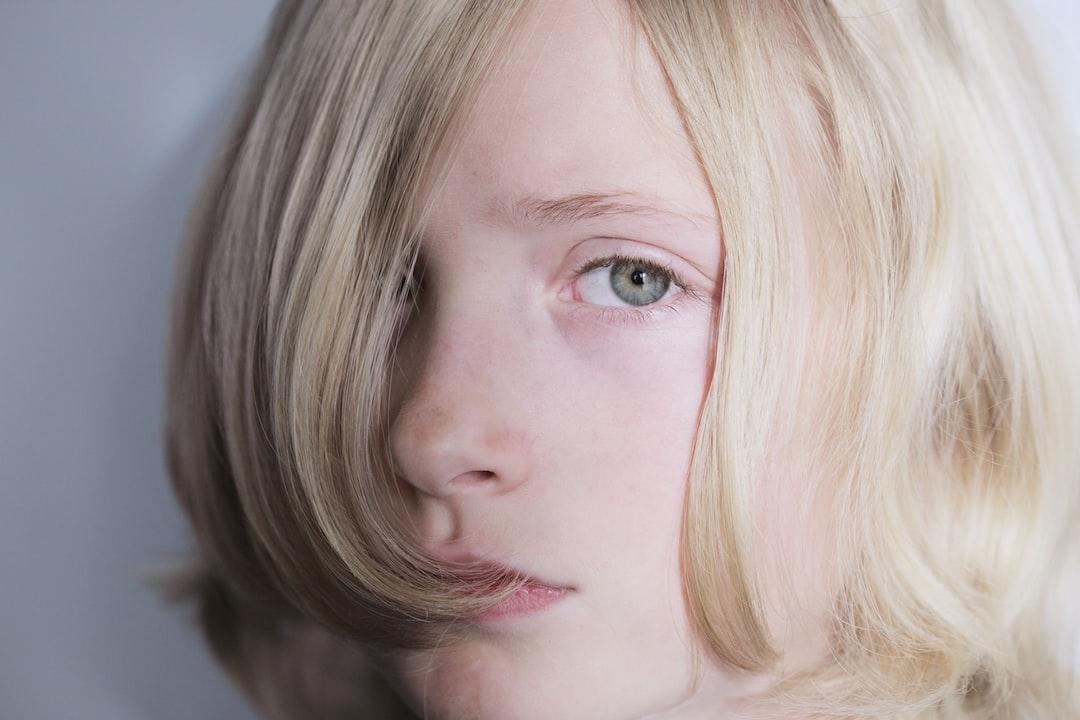 No labels. Portrait of a child.
