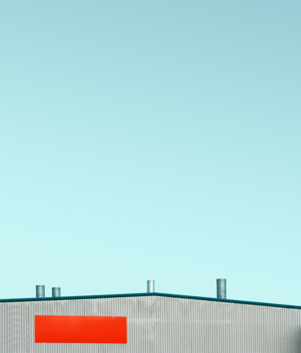 warehouse rooftop during daytime