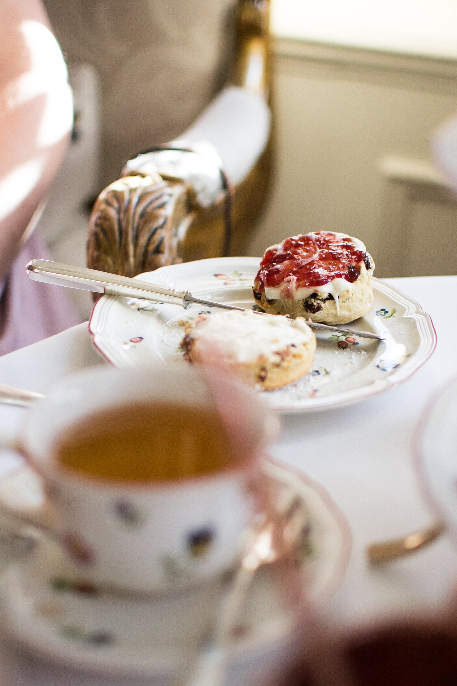 sliced cake served on white ceramic plate