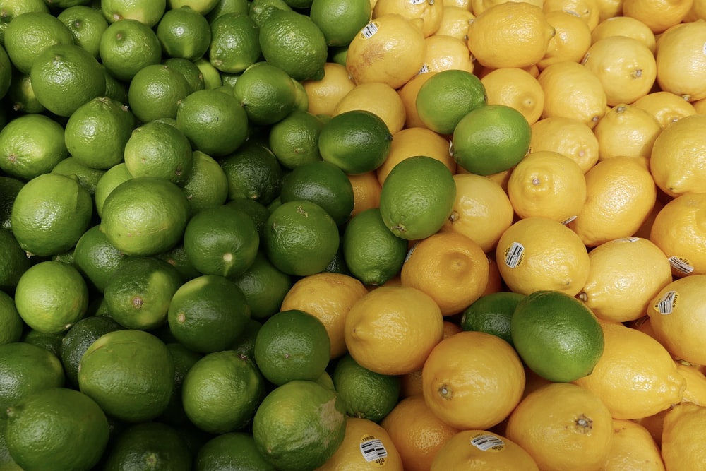 bunch of limes