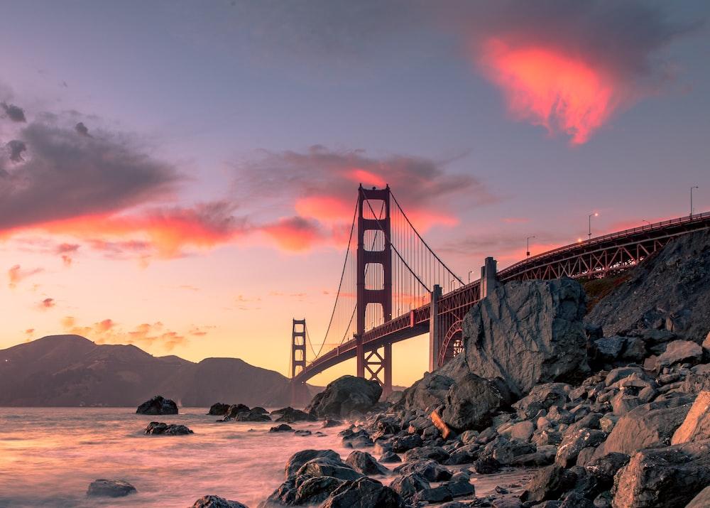 Golden Gate Bridge In San Francisco Photo Free San