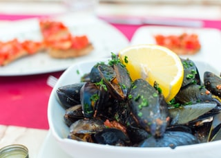 shallow focus photography of seafoods