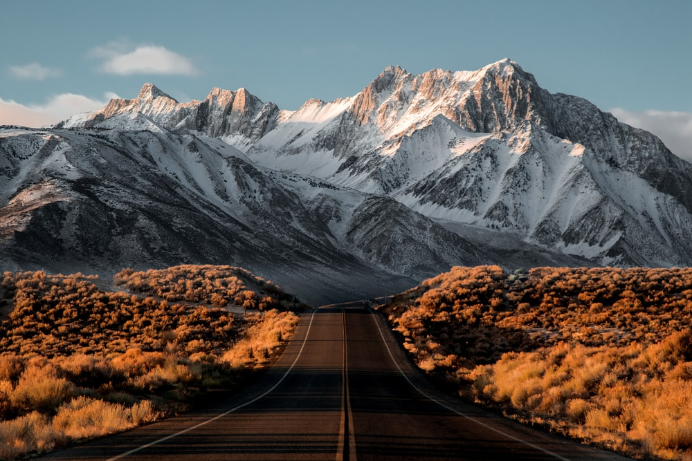 Landscape Photography Of Mountain Road