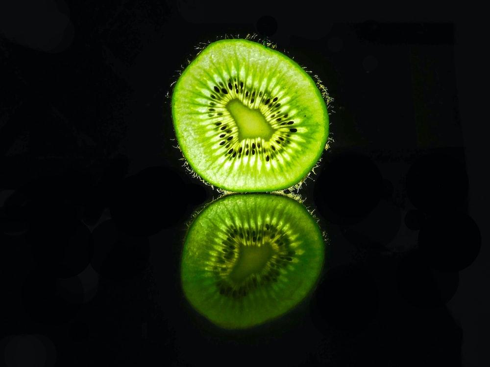 green slice fruit