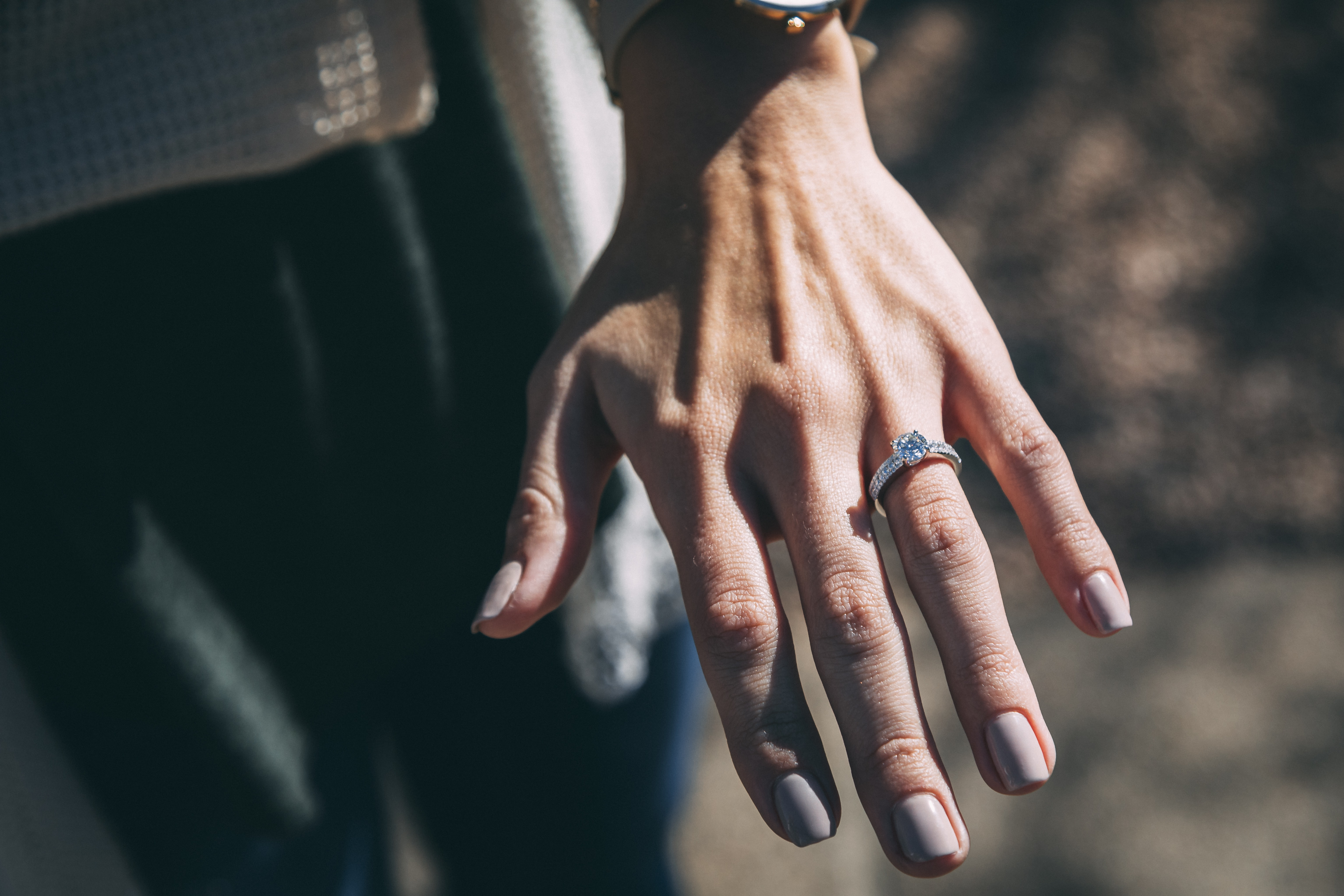 shallow focus photography of ring