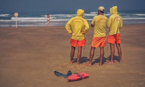 lifeguard pickup line