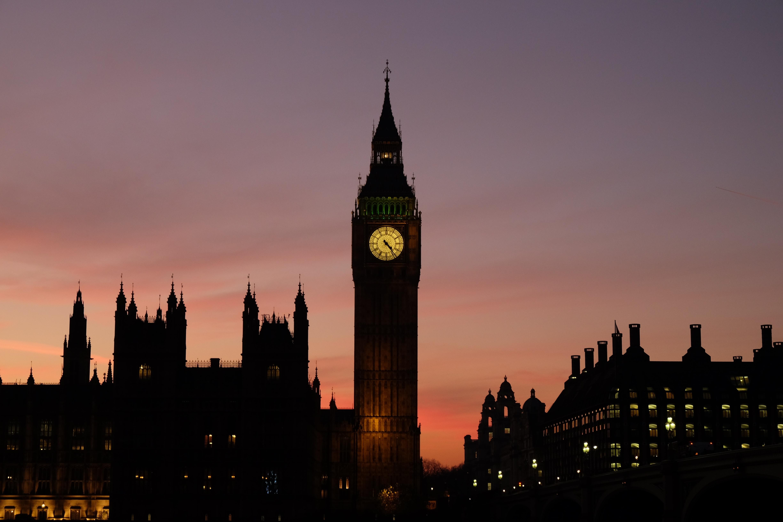 Big Ben The Clock, London during golden hour