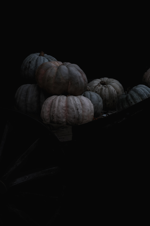 squashes on black basket