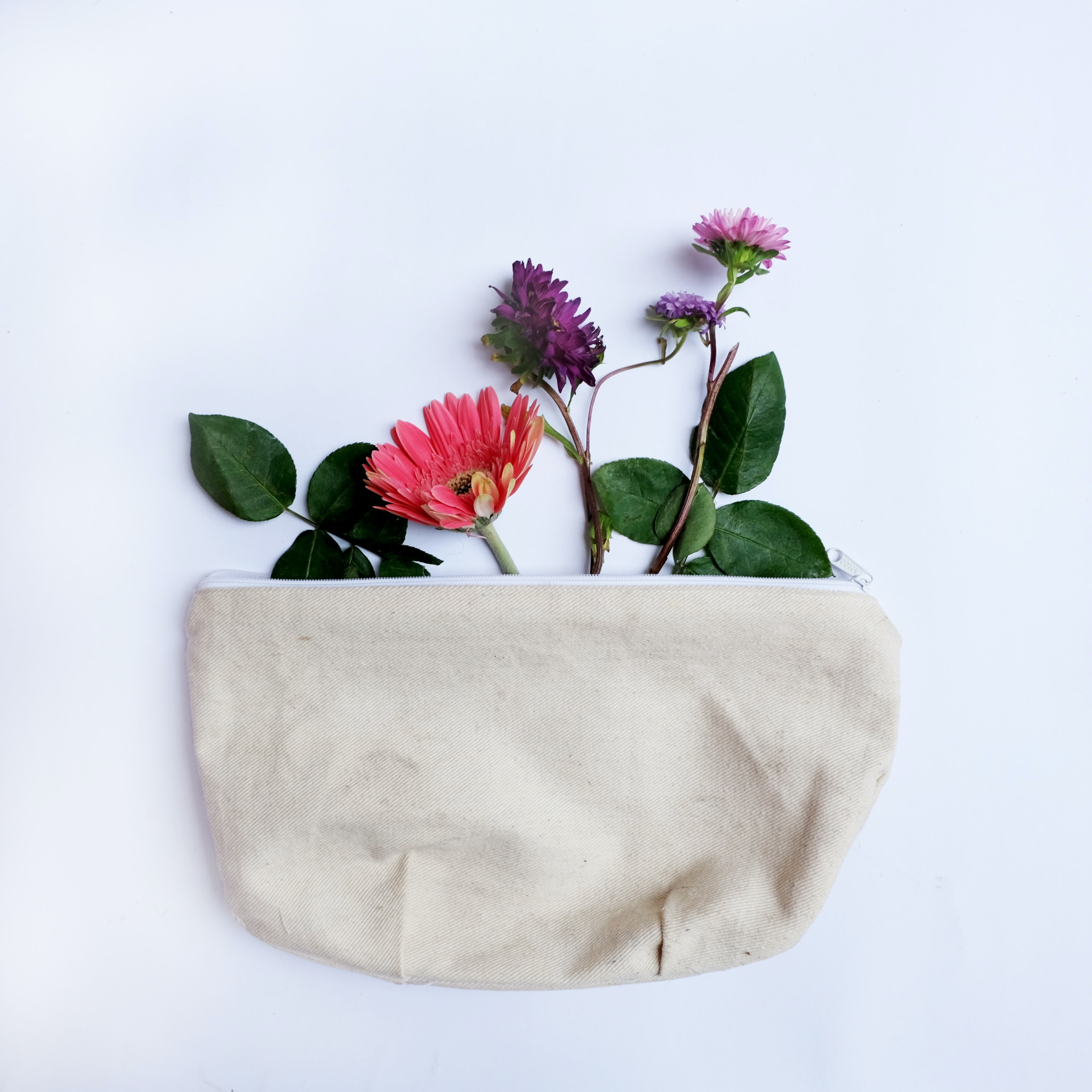 flower in bag