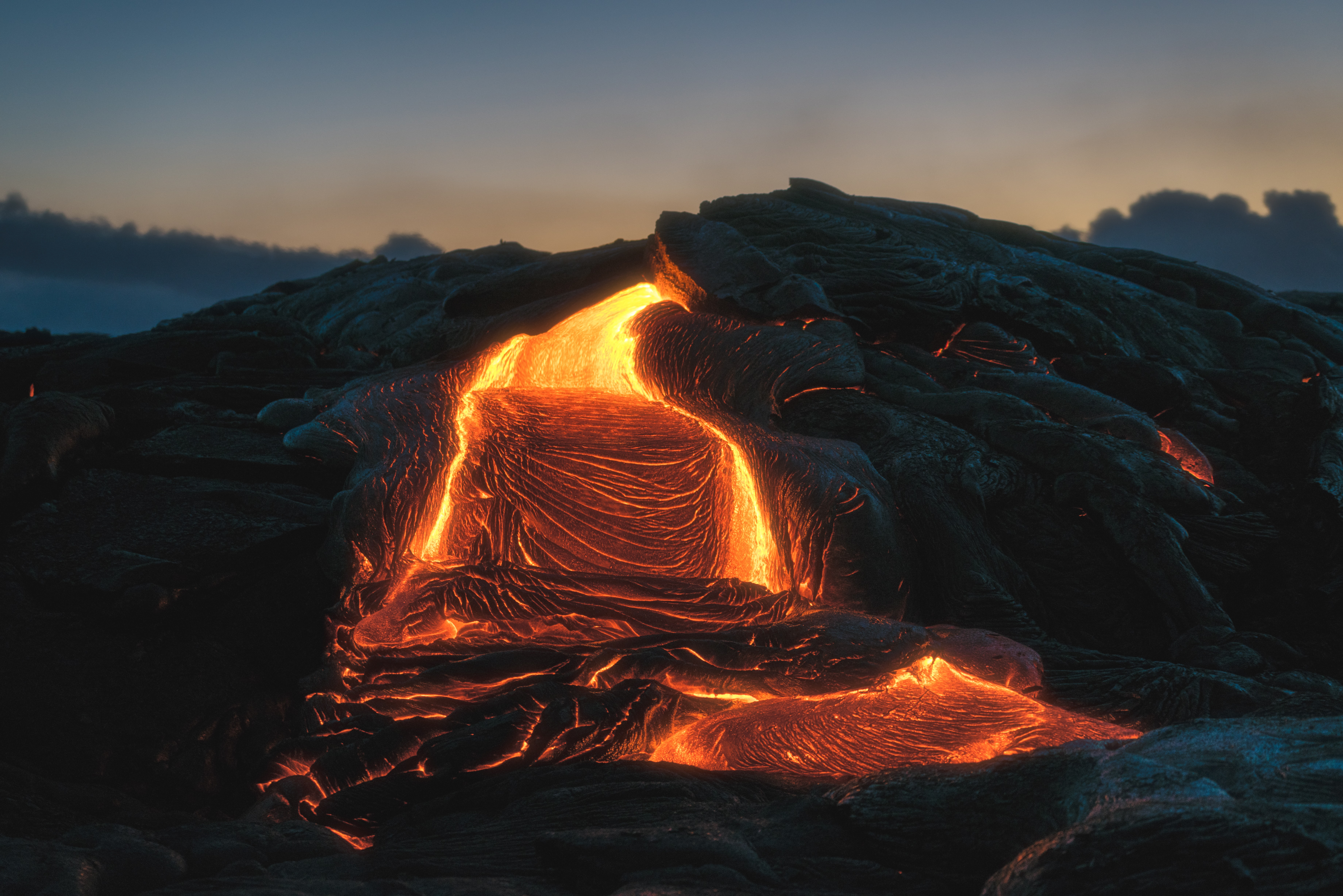 floating lava