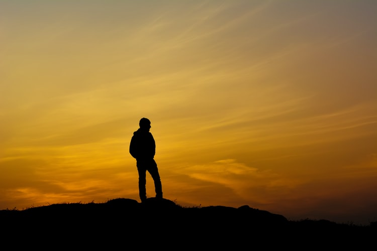 Sunrise on the hilltop of Vangamon