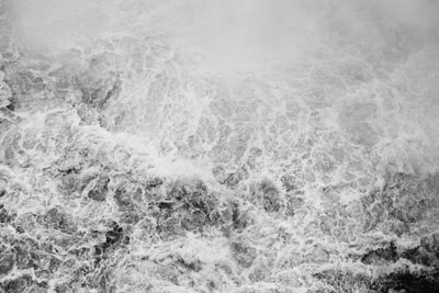grayscale photograph of rushing water paraguay zoom background