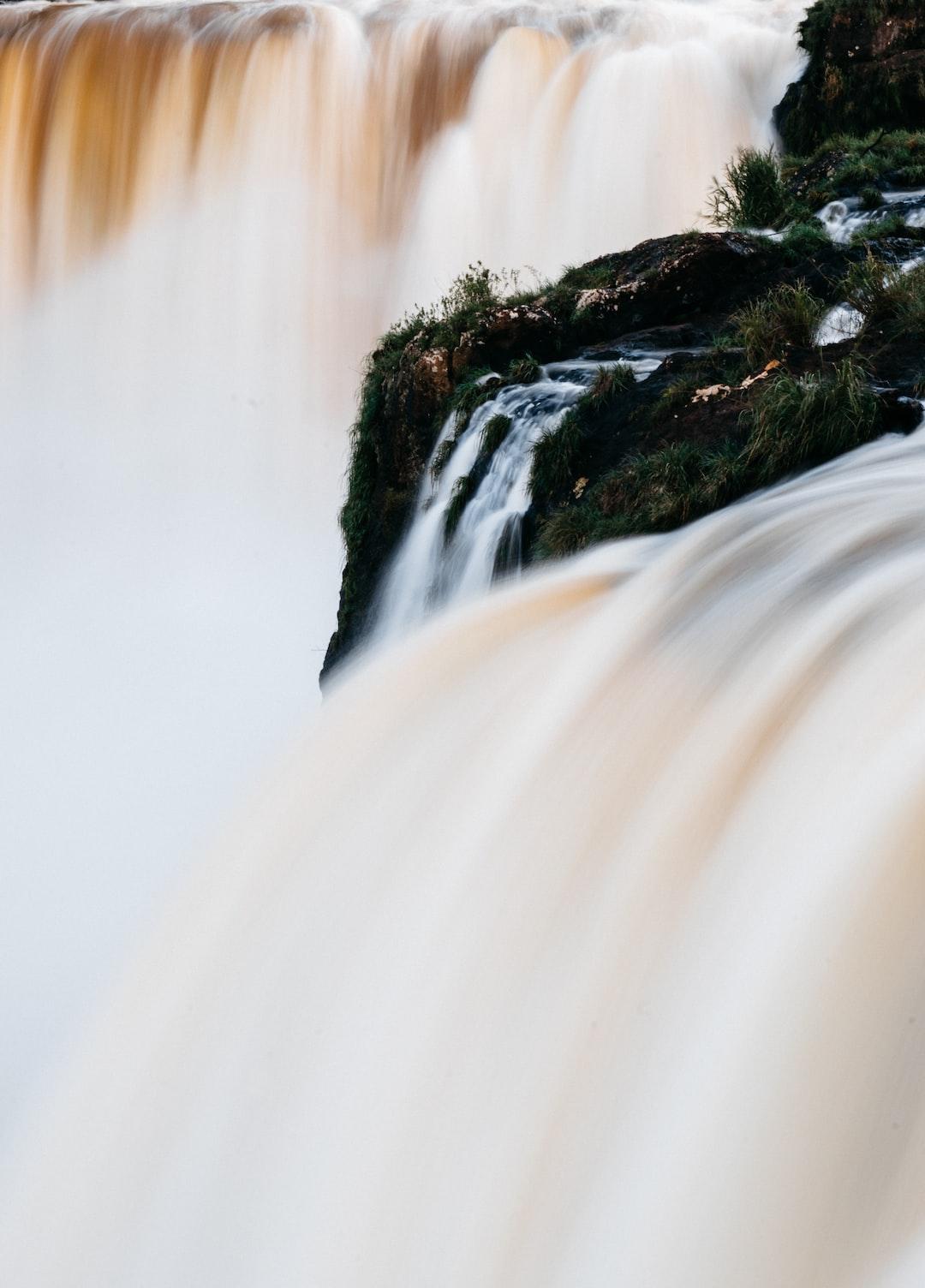Salto Monday waterfalls in Paraguay