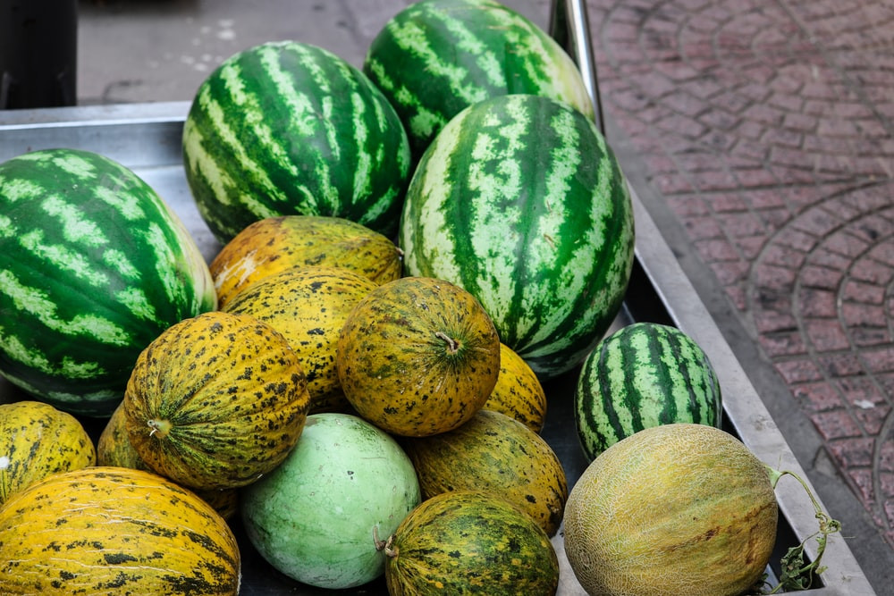bunch of watermelons
